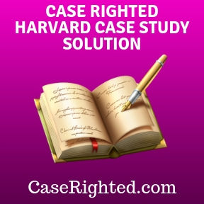 HARVARD CASE STUDY SOLUTION
